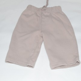 Brown jogging trousers 3-6 months
