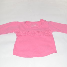 Pink top 6-9 months