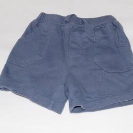 Navy shorts 3-6 months