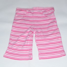 Pink and white stripped trousers 0-3 months