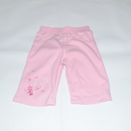 Pink flower trousers 0-3 months