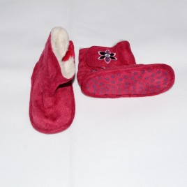 Red boots 6-9 months