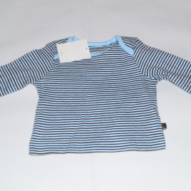 New Blue and Brown Stripy Top Newborn