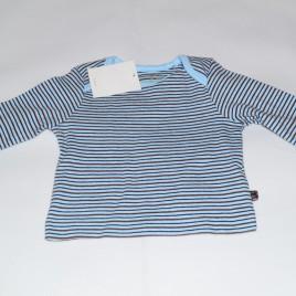 New Blue and Brown Stripy Top Newborn