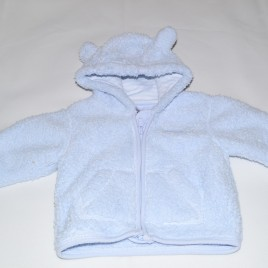 Next blue fleece 0-3 months