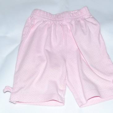 Pink spotty shorts 6-9 months