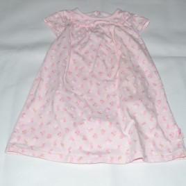 Pink flowers dress 9-12 months