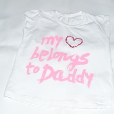 My heart belongs to Daddy t-shirt 9-12 months