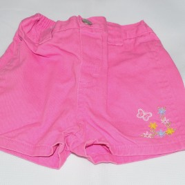 Pink shorts 6-9 months