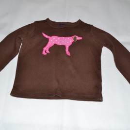 Mini Boden dog top 3-4 years