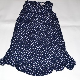Navy flowers dress 2-3 years