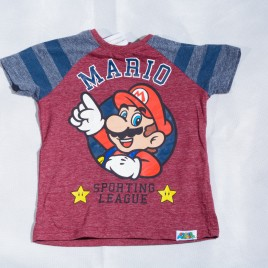 Next Super Mario t-shirt 5 years