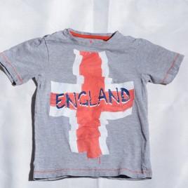Grey England t-shirt 5 years