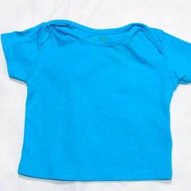 Blue t-shirt 3-6 months