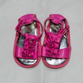 Pink sandals size 2 infant