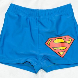 Superman swimming trunks 4-5 years