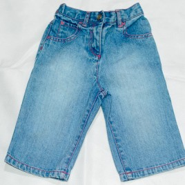Next cropped jeans 18-24 months