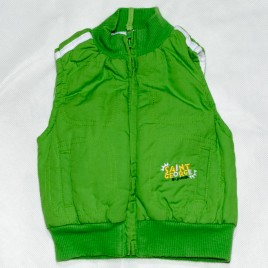 Green Saint George by Duffer body warmer/ gilet 0-3 months
