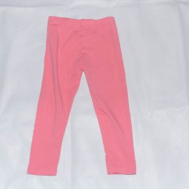 Coral pink leggings 3-4 years