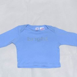Gap Blue Top Newborn