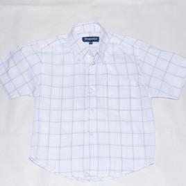 White checkered shirt 3-4 years