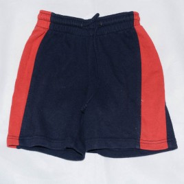 Navy & red shorts 3 years
