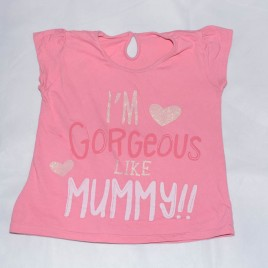 'Im gorgeous like mummy' t-shirt 4-5 years