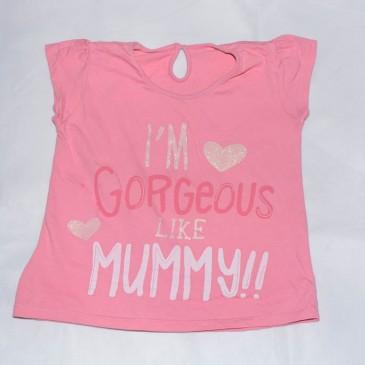 'Im gorgeous like mummy' t-shirt 4-5 years