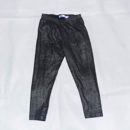 Black with silver sparkles leggings 3-4 years