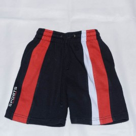 Black,white & red shorts 4 years