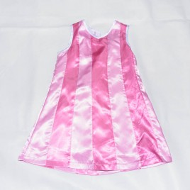 Lazy Town pink pinafore 3-4 years