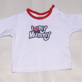 Next 'I love my mummy' top Newborn