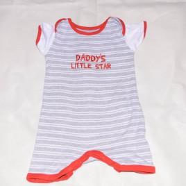 Daddy's little star romper 18-24 months