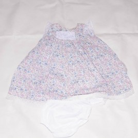 Flowers dress & pants 12-18 months