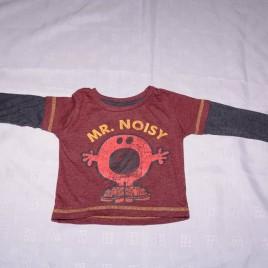 Mr Men, Mr Noisy top 9-12 months