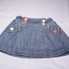 Next denim skirt 12-18 months