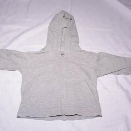 Grey Next monkey hoodie 12-18 months