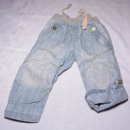 Next roll leg jeans 12-18 months