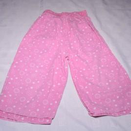 Pink snowflakes & stars pj bottoms 18-24 months