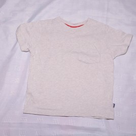 Grey/oatmeal GAP t-shirt 2 years