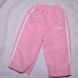 Lonsdale pink sports trousers 18-24 months