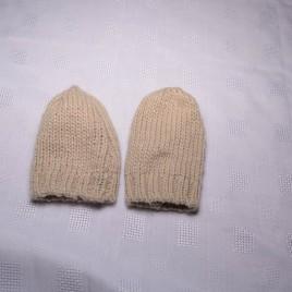 Brown gloves/mittens 9-12 months