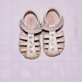 Start Rite white sandal shoes size 4.5f