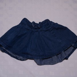 Denim skirt 18-24 months