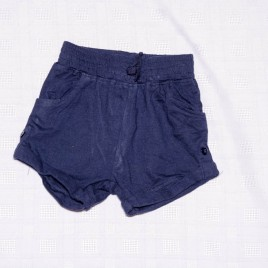 Navy shorts 12-18 months
