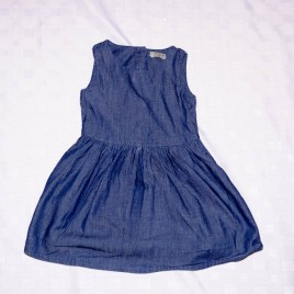 Next blue dress 18-24 months