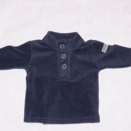 Next navy fleece jumper 3-6 months