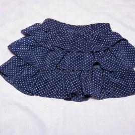 Navy spotty rara skirt 18-24 months