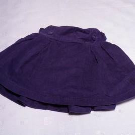Purple Jojo Maman Bebe Cord skirt 18-24 months