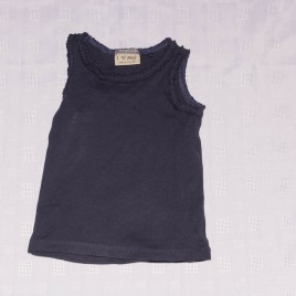Next navy vest t-shirt 18-24 months